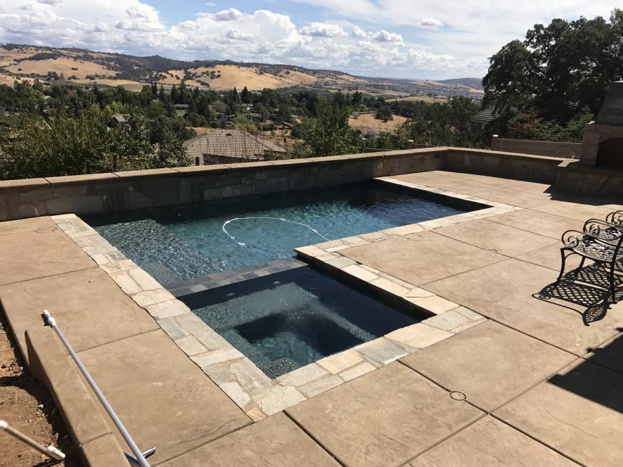 JLC Concrete - Pool Deck